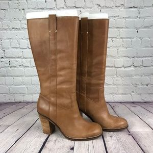 NWT Lucky Brand LkMaidie Tuscany/Rider Boots Sz 8